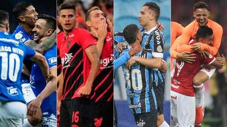 Cruzeiro, Athletico-PR, Grêmio e Internacional são os semifinalistas da Copa do Brasil (Foto: Divulgação/ Flickr)
