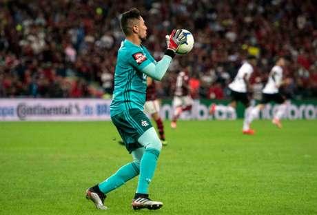 Diego Alves completou dois anos de Flamengo na última quarta (Foto: Delmiro Junior/Photo Premium)