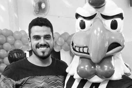 Luciano recebeu homenagens do clube, do rival Cruzeiro e da diretoria atleticana (Reprodução)