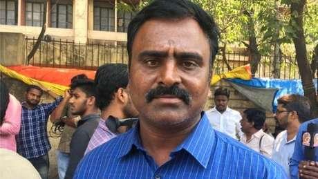 Venugopal Reddy diz que está preocupado com seu filho