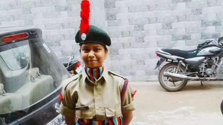 Anamika sonhava em entrar no Exército indiano