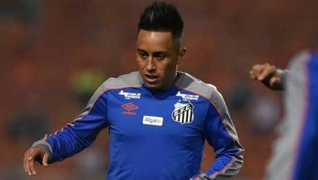 Cueva não vai enfrentar o Botafogo, no Rio