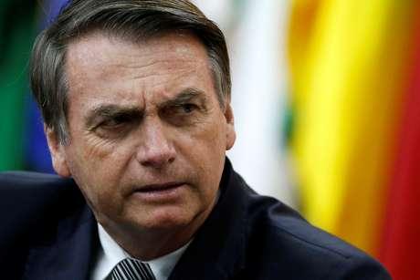 Bolsonaro participa de evento em Brasília 19/7/2019 REUTERS/Adriano Machado