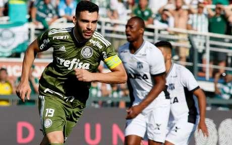 Com dois gols de Bruno Henrique, Palmeiras bateu Ceará em último encontro, em 21 de outubro (Luis Moura/WPP)