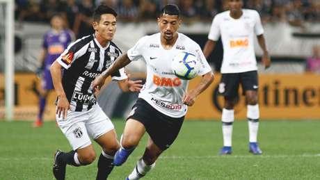 O volante Ralf é desfalque certo do Corinthians para domingo (Luis Moura/WPP/Lancepress!)