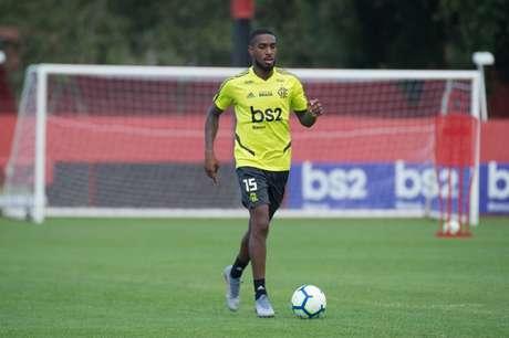 Gerson pode fazer sua estreia pelo Flamengo neste domingo, contra o Corinthians (Foto: Alexandre Vidal/Flamengo)