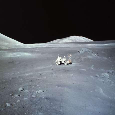 A última vez que o homem esteve na Lua foi em 1972, com a missão Apollo 17