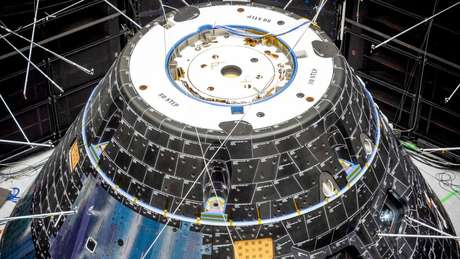 Os quatro computadores de voo da Orion podem fazer praticamente tudo na nave sem intervenção humana