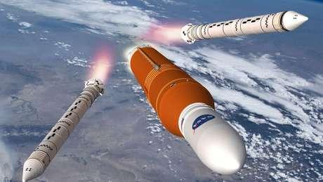 Chamado SLS, o foguete das próximas missões será extremamente potente