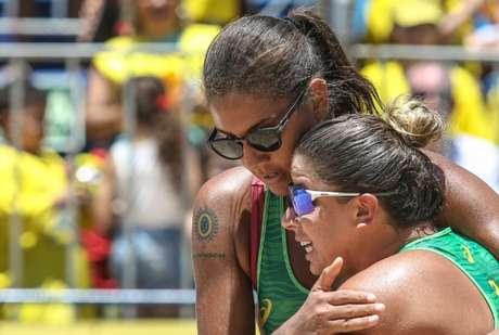Ana Patrícia e Rebecca conquistam bronze na etapa de Portugal no Mundial de vôlei de praia (Wander Roberto/Inovafoto/CBV)