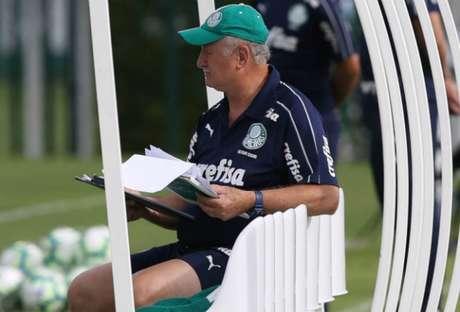 Felipão deve poupar seus principais jogadores diante do Ceará, neste sábado, pelo Brasileiro (Agência Palmeiras)