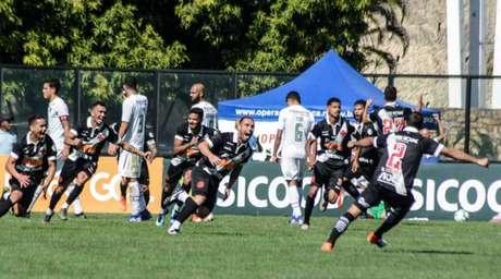 Bruno César marcou o segundo gol do Vasco (Foto: Alexandre Neto/Photopress/Lancepress!)