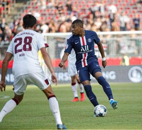 Mbappé foi um dos destaques da partida (Foto: Reprodução)
