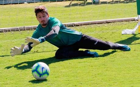 Tadeu chegou ao Goiás nesta temporada, para a disputa da Série A (Foto: Rosiron Rodrigues/ Goiás)