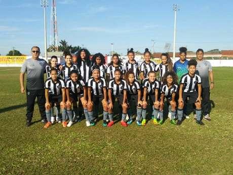 Botafogo tomou o empate aos 44 da etapa complementar (Foto: Divulgação/Botafogo)