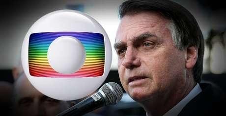 Os contatos de aproximação do presidente com a Globo estão em risco após novo confronto entre eles