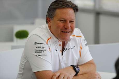 McLaren impressionada com a falta de erros do novato Norris
