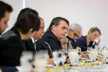 Em café da manhã com a imprensa estrangeira, Bolsonaro já tinha feito críticas ao Inpe e disse que os dados de desmatamento são mentirosos