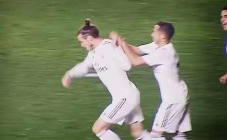 Bale está cada vez mais sem clima no Real (Foto: Reprodução)