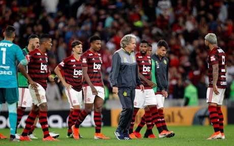Trauma a superar: Flamengo caiu diante de 70 mil torcedores na última quarta (Foto: Paulo Sergio/Agencia F8)