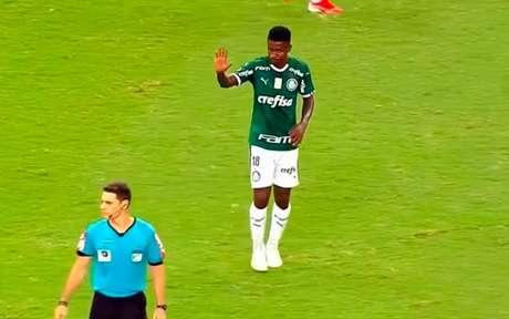 Ramires estreou pelo Palmeiras na derrota para o Ceará (Foto: Reprodução de internet)
