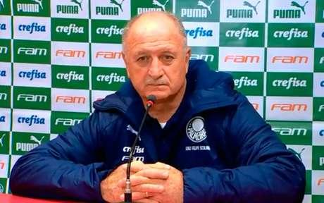 Felipão conheceu primeira derrota em jogos de Brasileiro desde a volta ao Palmeiras (Foto: Reprodução de internet)