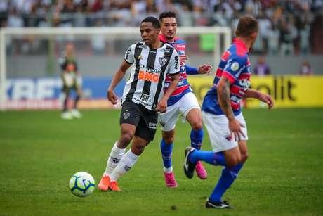 O time mineiro teve imensa dificuldade diante do Fortaleza no Independência-(Foto: Bruno Cantini / Atletico)