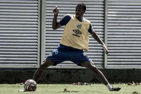 Luiz Felipe não é titular no Santos desde 31 de março, contra o Corinthians, pelo Paulista (Foto: Ivan Storti/Santos)