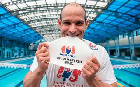 Nicholas segue fazendo história na natação (Foto: Ivan Storti/Unisanta)