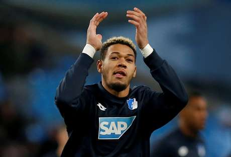 Joelinton durante jogo do Hoffenheim 12/12/2018 REUTERS/Andrew Yates
