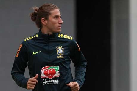 Filipe Luís é o novo lateral do Flamengo (Foto: Lucas Figueiredo/CBF)