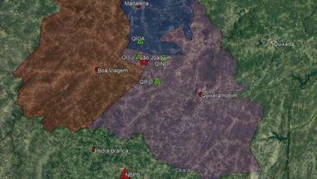 Com os terremotos desta quarta-feira, já são mais de 500 abalos entre Quixeramobim, Madalena e Boa Viagem somente neste ano