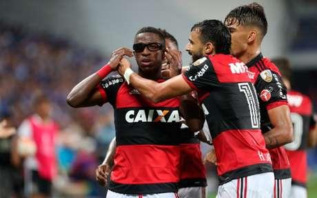 Vinícius Jr foi decisivo no ano passado (Foto: Gilvan de Souza/ Flamengo)