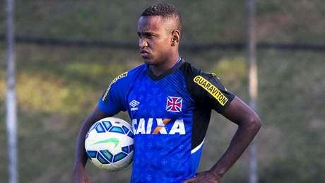 Yago foi baleado no Espírito Santo (Foto: Paulo Fernandes/Vasco.com.br)