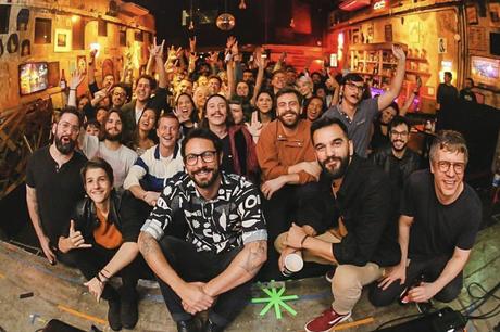 Banda Scalene lança o seu novo álbum Respiro, em São Paulo