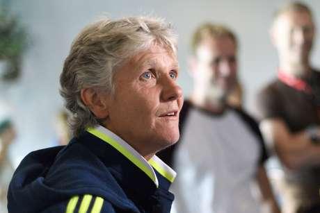A técnica Pia Sundhage, nova comandante da Seleção feminina