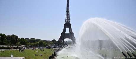 Paris bate recorde de calor registrado em 1947