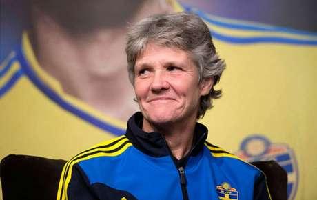 Pia Sundhag, nova treinadora da Seleção Brasileira feminina(Foto: Maja Suslin)
