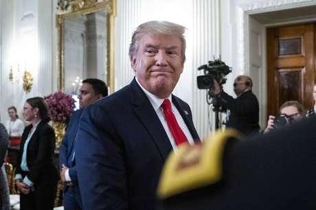"""Trump busca reforçar discurso """"linha dura"""" para as eleições de 2020"""