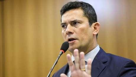 O ministro da Justiça, Sergio Moro, é um dos principais alvos das reportagens publicadas pelo site The Intercept