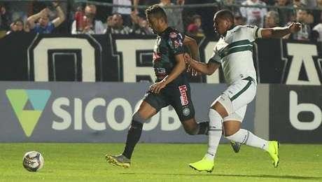 Operário e Coritiba empataram por 1 a 1 pela Série B