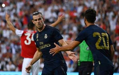 Bale atuou na pré-temporada pelo Real (Foto: ANDREW CABALLERO-REYNOLDS / AFP)