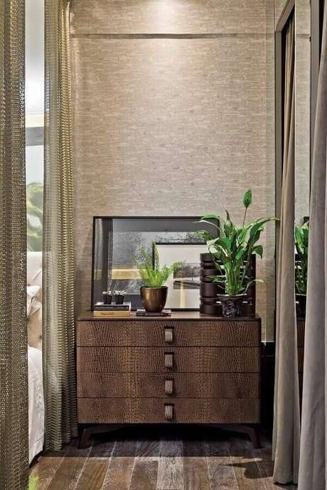 32. A cômoda é um móvel que pode ser usado até para decorar corredores – Foto: Artefacto