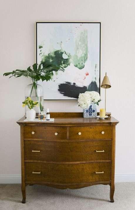 9. Utilize a cômoda em outros ambientes da casa, além do quarto – Foto: Pinterest