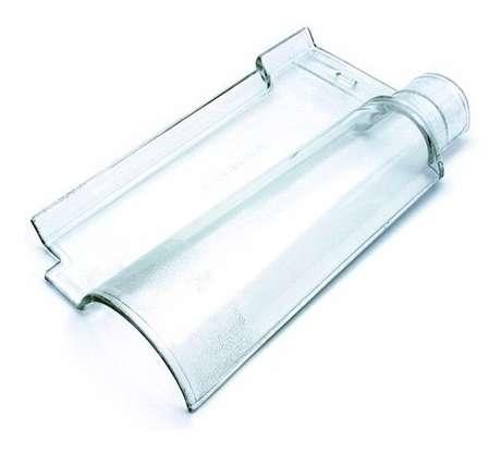 22. A telha portuguesa de vidro costuma ser mais cara. Foto: Mercado Livre