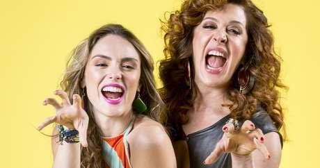 Manuzita (Isabelle Drummond) e Lidi (Cláudia Raia): elenco em sintonia produziu bons momentos cômicos