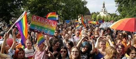 Em 20 de julho, a cidade de Bialystok celebrou sua parada do orgulho LGBT, que acabou alvo de ataques