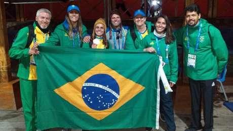 Mariana Nep conquista medalha inédita para o Brasil. (Reprodução)
