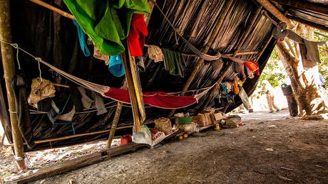 Local onde viviam trabalhadores resgatados recentemente em operação do Ministério Público do Trabalho
