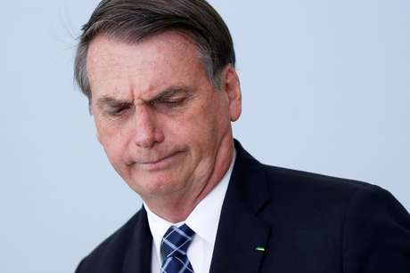 Presidente Jair Bolsonaro durante cerimônia no Palácio do Planalto 01/08/2019 REUTERS/Adriano Machado